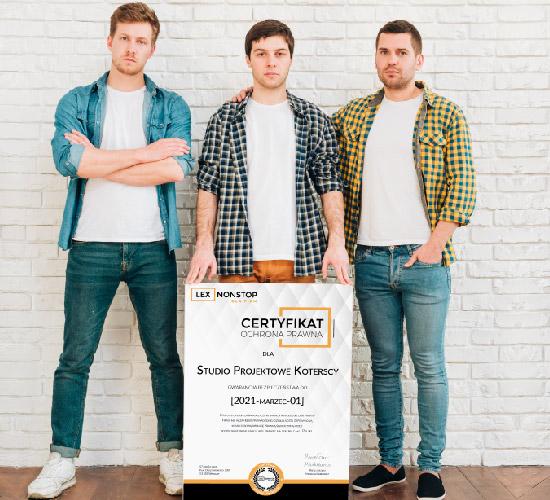Przedsiębiorca z certyfikatem lexnonstop 3